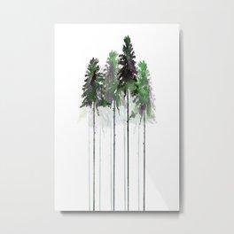 Siberian Forest 5 Metal Print