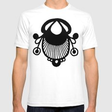 Bagge SMALL White Mens Fitted Tee