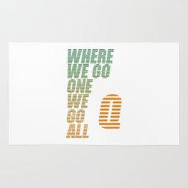 Where We Go One We Go All 1 Rug