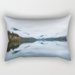 Lake Crescent Rectangular Pillow