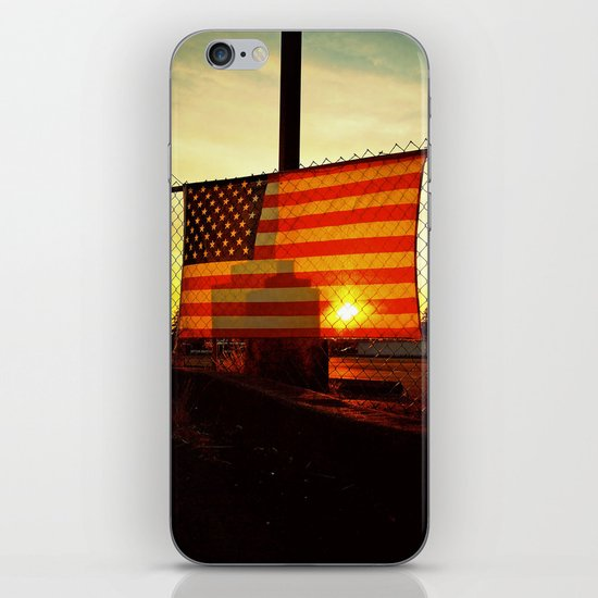 America's sunset iPhone & iPod Skin