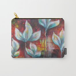 Lumnious Blooms Carry-All Pouch