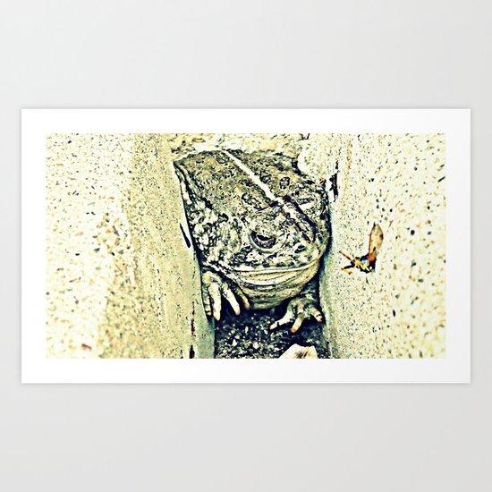 Stealth Frog Art Print