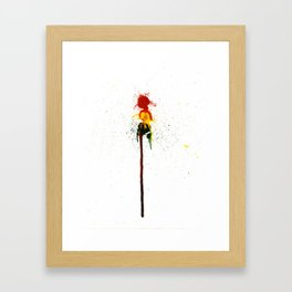 Lightly Sought Death Framed Art Print