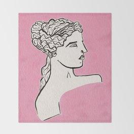 Venus de Milo statue Throw Blanket