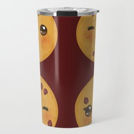 Kawaii Chocolate chip cookie Travel Mug