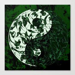 The rebellion of yin yang Canvas Print