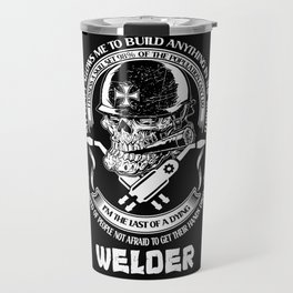 welder welding Travel Mug