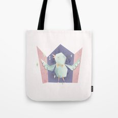 Singing bird Tote Bag