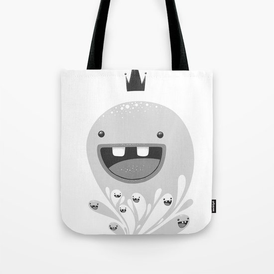 King Lip of the Squiggles Tote Bag