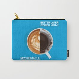 Coffee - nyc vs istanbul Carry-All Pouch