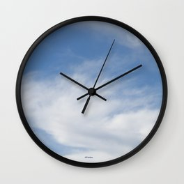 Just Clouds #3 Wall Clock