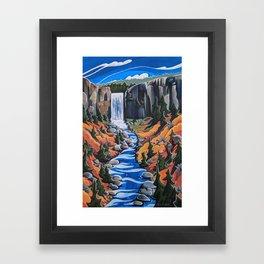 Tumalo Falls Framed Art Print