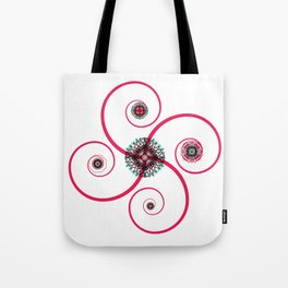 Sacred Geometry Spiro Tote Bag