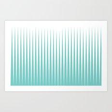 SEA SPIKES Art Print