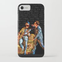 u2 iPhone & iPod Cases featuring U2 / Bono / Edge / Until The End Of The World by JR van Kampen