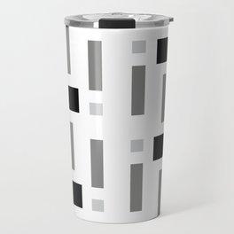 Pattern of Squares Travel Mug