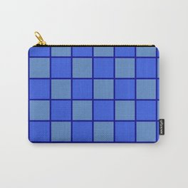 Blue Chex 1 Carry-All Pouch