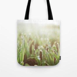 Morning Grass Tote Bag