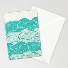 The Calm and Stormy Seas Stationery Cards