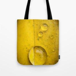 Yellow drop Tote Bag