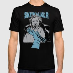 Luke Skywalker Black Mens Fitted Tee X-LARGE