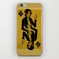 cargline iPhone & iPod Skins featuring Ace of Spades by cargline