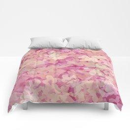 Peach Pie Floral Comforters