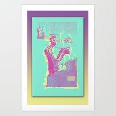 Excavacation Art Print