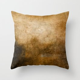 Abstract Cave Throw Pillow
