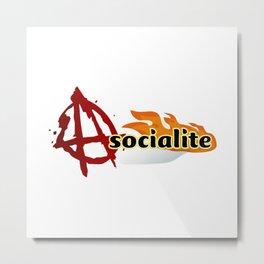 asocialite Metal Print