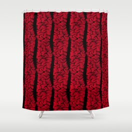 The Vintage Brain Shower Curtain