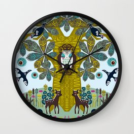 The Horse Chestnut {Day} Wall Clock