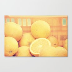 Bitter Juice Canvas Print