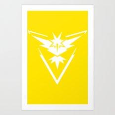 PokemonGO Instinct Art Print