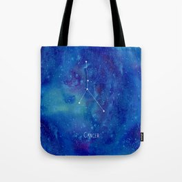 Constellation Cancer Tote Bag
