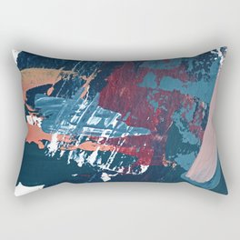 Pacific Northwest: a pretty minimal abstract piece by Alyssa Hamilton Art Rectangular Pillow