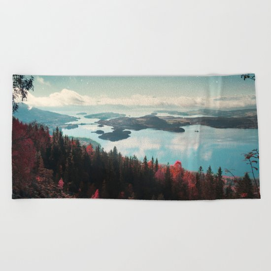 The Fjord Beach Towel