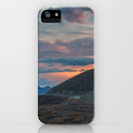 Polychrome Pass Denali National Park Mt McKinley Mt Denali iPhone Case