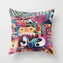 Beings 2 Throw Pillow