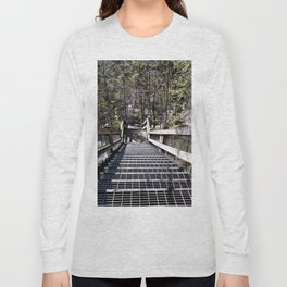 Tahquamenon Stairs Long Sleeve T-shirt