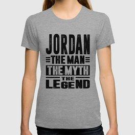 Jordan Personalized Name Birthday Gift T-shirt