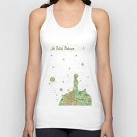 le petit prince Tank Tops featuring Le Petit Prince The Little Prince by Carma Zoe