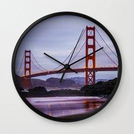 Baker Beach II Wall Clock