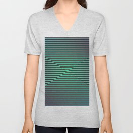 Play with stripes  2 Unisex V-Neck