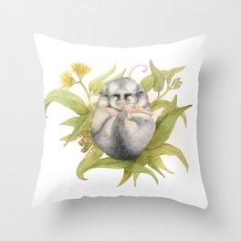 Mountain Pygmy Possum  Throw Pillow