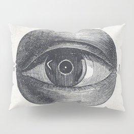 Menselijk oog met een afwijking (1836-1912) print in high resolution by Isaac Weissenbruch Pillow Sham