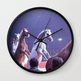 Circus Horses Wall Clock