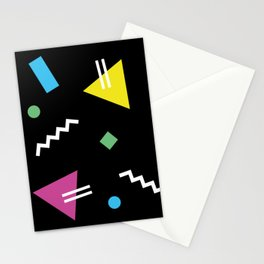 Memphis pattern 62 - 80s / 90s Retro Stationery Cards
