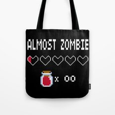 Almost Zombie Tote Bag